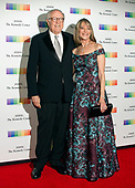 Robert Barnett and Rita Braver arrive for the formal Artist's Dinner honoring the recipients of the 40th Annual Kennedy Center Honors hosted by United States Secretary of State Rex Tillerson at the US Department of State in Washington, D.C. on Saturday, December 2, 2017. The 2017 honorees are: American dancer and choreographer Carmen de Lavallade; Cuban American singer-songwriter and actress Gloria Estefan; American hip hop artist and entertainment icon LL COOL J; American television writer and producer Norman Lear; and American musician and record producer Lionel Richie.  <br /> Credit: Ron Sachs / Pool via CNP