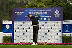 Abhijit Chadha of India during the 2011 Faldo Series Asia Grand Final on the Faldo Course at Mission Hills Golf Club in Shenzhen, China. Photo by Victor Fraile / Faldo Series