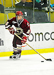 16 October 2010: Boston College Eagles' forward/defender Kristina Brown, a Sophomore from North Andover, MA, in action against the University of Vermont Catamounts at Gutterson Fieldhouse in Burlington, Vermont. The Eagles defeated the Lady Cats 4-1 in the second game of their weekend series. Mandatory Credit: Ed Wolfstein Photo