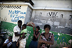 © Remi OCHLIK/IP3 - Port Au Prince on 2010 november 10 Sick people are treaeted in Sainte Catherine hospital in Cite Soleil Slum.Up to 200,000 Haitians could contract cholera as the outbreak which has already killed 800 is set to spread across the battered Caribbean nation of nearly 10 million, the United Nations said on Friday.