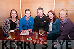Quiz Night : Pictured in Herberts's Bar attending the Crotta-O'Neill's quiz night held in Parkers & Herberts bars in Kilflynn in aid od Coiste na Nog on Friday night last were Siobhan O'Donoghue, Darragh O'Donoghue, Michael & Michell McKenna & Cora O'Donoghue.