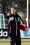 Nederland, Amsterdam, 19 oktober  2012.Seizoen 2012-2013.Training Ajax.John Bosman jeugd trainer bij Ajax