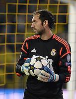 FUSSBALL  CHAMPIONS LEAGUE  HALBFINALE  HINSPIEL  2012/2013      Borussia Dortmund - Real Madrid              24.04.2013 Diego Lopez (Real Madrid)