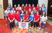 USWNT Girls Fantasy Camp, January 23, 2016