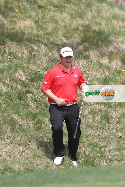George Coetzee (RSA) on the 5th on Day 3 of the Ballantines Championship 2012 at Blackstone Golf Course, Icheon, Korea...(Photo Jenny Matthews/www.golffile.ie)