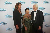 "ST. PAUL, MN JULY 16: Caitlyn Jenner poses with Starkey founder Bill Austin and wife Tani Austin on the red carpet at the Starkey Hearing Foundation ""So The World May Hear Awards Gala"" on July 16, 2017 in St. Paul, Minnesota. Credit: Tony Nelson/Mediapunch"