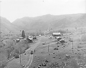 Elevated view of small settlement of Jasper, south of Del Norte.<br /> Jasper, CO  ca. 1900-1909
