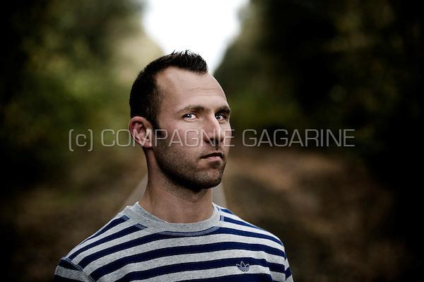 Belgian football player Thomas Buffel (Belgium, 29/10/2013)
