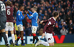 01.12.2019 Rangers v Hearts: Joe Aribo and Ryan Kent