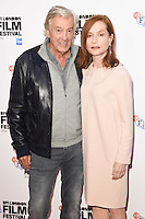 "director, Paul Verhoeven and Isabelle Huppert<br /> at the London Film Festival premiere for ""Elle"" at the Embankment Gardens Cinema, London.<br /> <br /> <br /> ©Ash Knotek  D3165  08/10/2016"