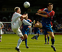 06/08/2005         Copyright Pic : James Stewart.File Name : jspa04 inverness v rangers.FERNANDO RICKSEN AND RICHARD HASTINGS CHALLENGE FOR THE BALL.Payments to :.James Stewart Photo Agency 19 Carronlea Drive, Falkirk. FK2 8DN      Vat Reg No. 607 6932 25.Office     : +44 (0)1324 570906     .Mobile   : +44 (0)7721 416997.Fax         : +44 (0)1324 570906.E-mail  :  jim@jspa.co.uk.If you require further information then contact Jim Stewart on any of the numbers above.........