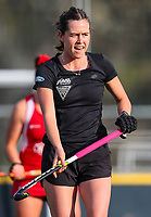 Sam Charlton. International Hockey Warmup game, Blacksticks women v Chile.Auckland Grammar Hockey Turf, Auckland, New Zealand. Thursday 13 December 2018. Photo: Simon Watts/Hockey NZ