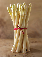 Stock photos of a bunch of fresh white asparagus spears . Funky stock photos images of white Asparagus