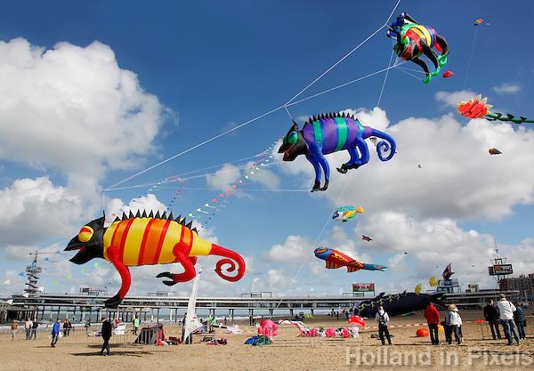 Vliegerfestival in Scheveningen
