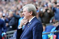 Crystal Palace manager Roy Hodgson during Tottenham Hotspur vs Crystal Palace, Premier League Football at Wembley Stadium on 5th November 2017