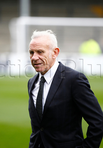 7th October 2017, Glanford Park, Scunthorpe, England; EFL League One football, Scunthorpe versus Wigan; Wigan Coach Peter Reid before the game
