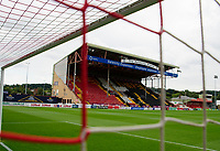 A general view of Sincil Bank, home of Lincoln City<br /> <br /> Photographer Andrew Vaughan/CameraSport<br /> <br /> The Carabao Cup Second Round - Lincoln City v Everton - Wednesday 28th August 2019 - Sincil Bank - Lincoln<br />  <br /> World Copyright © 2019 CameraSport. All rights reserved. 43 Linden Ave. Countesthorpe. Leicester. England. LE8 5PG - Tel: +44 (0) 116 277 4147 - admin@camerasport.com - www.camerasport.com