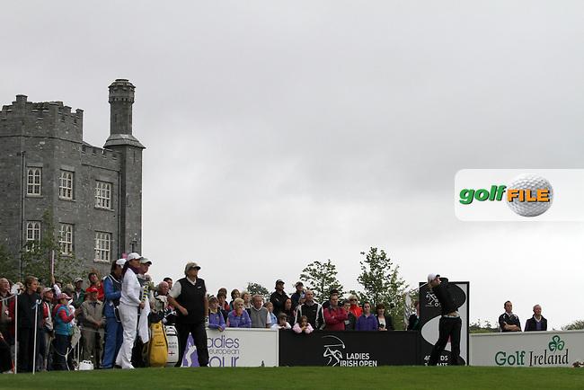 Jodie Ewart (ENG) on The Final Day of The 2012 Ladies Irish Open at Killeen Castle, Co.Meath, Ireland, 05/08/12...(Photo Jenny Matthews/www.golffile.ie)