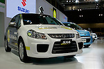 Suzuki SX4 Fuel Cell on display during the first press day for the 41th Tokyo Motor Show, 21 October 2009 in Tokyo (Japan). The TMS will be open for the public from 23 October 2007 to 4 November 2009.