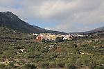 Village of Benimaurell, Vall de Laguar, Marina Alta, Alicante province, Spain
