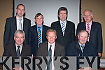 ..AGM: Top table at the Lee Strand AGM held in the Abbey Gate Hotel, Tralee on Friday. Front l-r: Sean Myres (ICOS), Brendan Walsh (Chairman) and Bill Kennedy. Back l-r: Donal Pierse, John Foley, Tim O'Keeffe and David Nolan..........   Copyright Kerry's Eye 2008