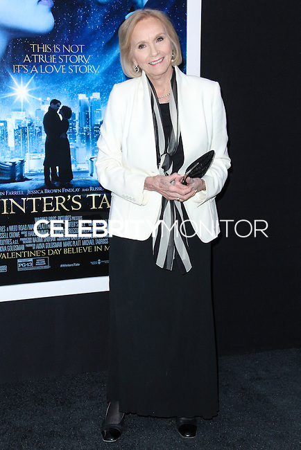 "NEW YORK, NY - FEBRUARY 11: Eva Marie Saint at the World Premiere Of Warner Bros. Pictures' ""Winter's Tale"" held at Ziegfeld Theatre on February 11, 2014 in New York City. (Photo by Jeffery Duran/Celebrity Monitor)"