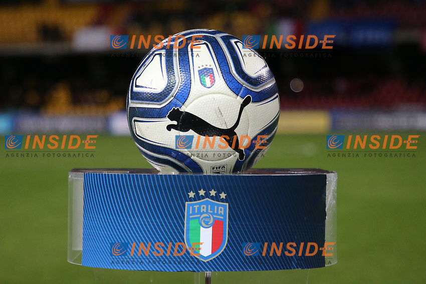 Ball Italy<br /> Benevento 08-11-2019 Stadio Ciro Vigorito <br /> Football UEFA Women's EURO 2021 <br /> Qualifying round - Group B <br /> Italy - Georgia<br /> Photo Cesare Purini / Insidefoto