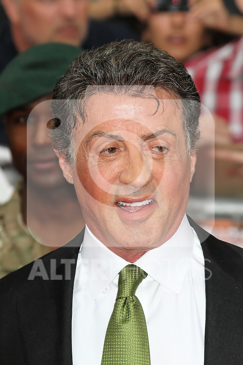 LONDON - AUGUST 13: Sylvester Stallone attended the UK Film Premiere of 'The Expendables 2', Leicester Square, London, UK. August 13, 2012. (Photo by Richard Goldschmidt) /NortePhoto.com.... **CREDITO*OBLIGATORIO** *No*Venta*A*Terceros*..*No*Sale*So*third* ***No*Se*Permite*Hacer Archivo***No*Sale*So*third*