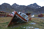 Grytviken, South Georgia, Great Britain, UK