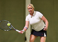March 5, 2015, Netherlands, Hilversum, Tulip Tennis Center, NOVK, Josephine van der Stroom (NED)<br /> Photo: Tennisimages/Henk Koster