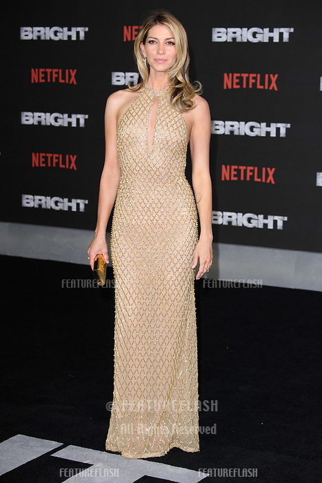 Dawn Olivieri at the European premiere for &quot;Bright&quot; European premiere at the BFI South Bank, London, UK. <br /> 15 December  2017<br /> Picture: Steve Vas/Featureflash/SilverHub 0208 004 5359 sales@silverhubmedia.com