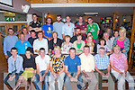 FAREWELL:A farewell and a birthday party was held in O'Riada's Bar & Restaurant, Ballymacelligott by Family and Friends of Pat Carmody Muinganinane, Castleilland as he returns to Australia on Monday.(Pat is seated 4th from right)