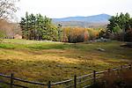 View of Mt. Monadnock in Fall Season in Chesham, New Hampshire USA