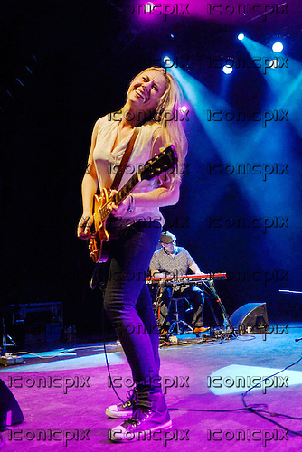 Joanne Shaw Taylor - performing live at the Empire in Shepherds Bush London UK - 28 Nov 2013.  Photo credit: George Chin/IconicPix