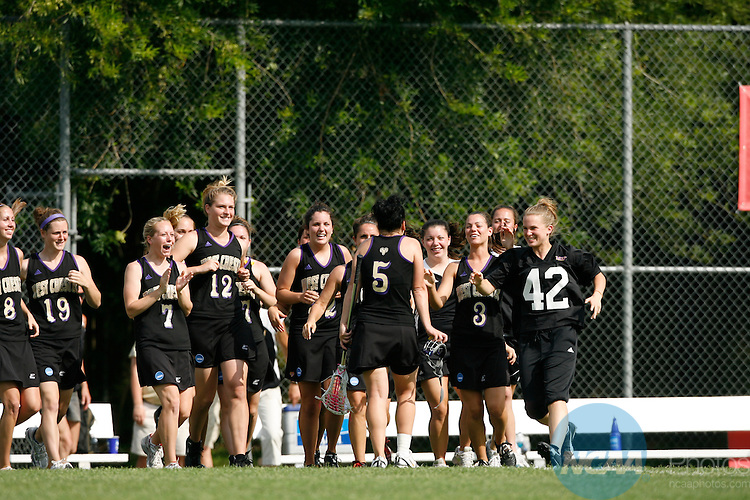 15 May 2008: West Chester University plays Limestone College in the semifinals of the 2008 NCAA Division II Women's Lacrosse tournament at the Division II Sports Festival at Memorial Park in Houston, TX.  Trevor Brown, Jr./NCAA Photos.