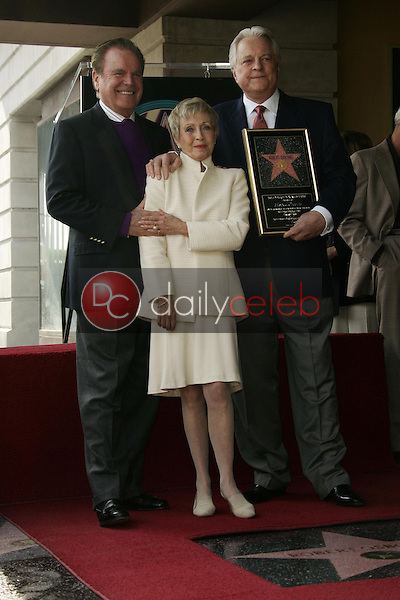 Robert Wagner with Jane Powell and Robert Osborne<br />at the ceremony honoring Robert Osborne with a star on the Hollywood Walk of Fame. Hollywood Boulevard, Hollywood, CA. 02-01-06<br />Dave Edwards/DailyCeleb.com 818-249-4998
