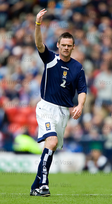 Graham Alexander, Scotland.stock season 2005-2006.pic willie vass
