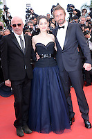 "Jacques Audiard,  Marion Cotillard, Matthias Schoenaerts and Armand Verdure attending the ""De Rouille et D'os"" Premiere during the 65th annual International Cannes Film Festival in Cannes, 17th May 2012...Credit: Timm/face to face /MediaPunch Inc. ***FOR USA ONLY***"