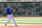 Western Nevada's Tyler Baker makes a play in a college baseball game against Southern Nevada in Carson City, Nev., on Friday, March 22, 2013..Photo by Cathleen Allison