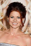 "WESTWOOD, CA. - September 04: Actress Debra Messing arrives at the Los Angeles Premiere of ""The Women"" at the Mann Village Theater on September 4, 2008 in Westwood, California."