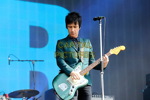 LONDON, ENGLAND - JUNE 26: Johnny Marr performing at Barclaycard British Summer Time on June 26, 2015 in London, England.<br /> CAP/MAR<br /> &copy; Martin Harris/Capital Pictures