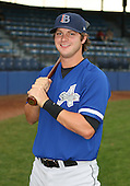 July 14th, 2007:  Jedidiah Stephen of the Aberdeen Ironbirds, Class-A Short-Season affiliate of the Baltimore Orioles, poses for a photo before a game vs the Jamestown Jammers in New York-Penn League action.  Photo Copyright Mike Janes Photography 2007.