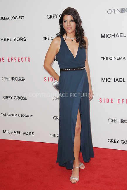 WWW.ACEPIXS.COM . . . . . .January 31, 2013...New York City....Sheila Tapia attends the premiere of 'Side Effects' hosted by Open Road with The Cinema Society and Michael Kors at AMC Lincoln Square Theater on January 31on January 31, 2013 in New York City ....Please byline: KRISTIN CALLAHAN - ACEPIXS.COM.. . . . . . ..Ace Pictures, Inc: ..tel: (212) 243 8787 or (646) 769 0430..e-mail: info@acepixs.com..web: http://www.acepixs.com .