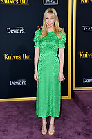 "LOS ANGELES, USA. November 15, 2019: Riki Lindhome at the premiere of ""Knives Out"" at the Regency Village Theatre.<br /> Picture: Paul Smith/Featureflash"