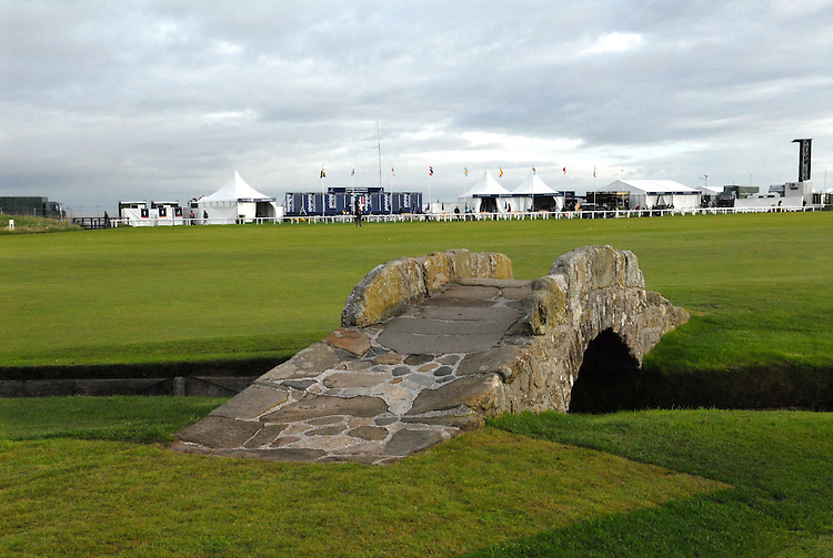 ALFRED DUNHILL LINKS CHAMPIONSHIP, ST.ANDREWS,  5-8TH OCTOBER-2006..OLD COURSE SITE.6-10-06 PIC BY IAN MCILGORM