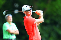 Dylan Fritteli on the 2nd tee during the BMW PGA Golf Championship at Wentworth Golf Course, Wentworth Drive, Virginia Water, England on 25 May 2017. Photo by Steve McCarthy/PRiME Media Images.