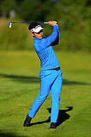 Daniel Im (USA) during the first round of the Lyoness Open powered by Organic+ played at Diamond Country Club, Atzenbrugg, Austria. 8-11 June 2017.<br /> 08/06/2017.<br /> Picture: Golffile | Phil Inglis<br /> <br /> <br /> All photo usage must carry mandatory copyright credit (&copy; Golffile | Phil Inglis)