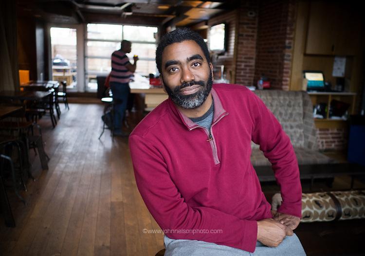Maceo Thomas, realtor, arts supporter, community organizer,  humorist