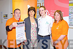 ARTHRITIS IRELAND: Launching the Osteo-Arthriris A Natural Remedy free public information talk to be held on Wednesday 26th of October at 8:00pm at the Brandon hotel, Tralee l-r: Tom Barrett (Kerry Branch Arthritis Ireland), Anne Darcy (All Therapy Centre, Tralee), Derek Griffin (Tralee Physiotherapy Centre/ University of Limerick) and Caroline Kennedy (Kerry Branch Arthritis Ireland).