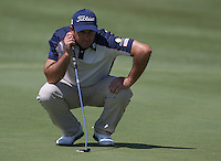 Ricardo Santos (POR) adds a single shot (-5) during Round Two of The Tshwane Open 2014 at the Els (Copperleaf) Golf Club, City of Tshwane, Pretoria, South Africa. Picture:  David Lloyd / www.golffile.ie